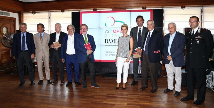 Presentazione Open d'Italia