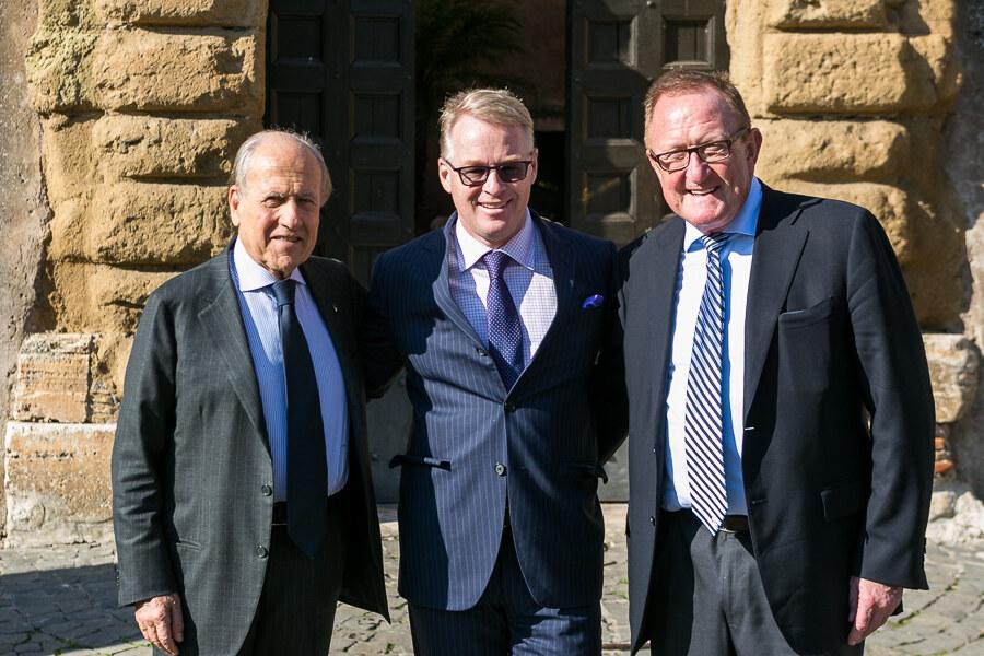 Franco Chimenti, Keith Pelley, Richard Hills  (Foto Giorgio Maiozzi – Uthopia)