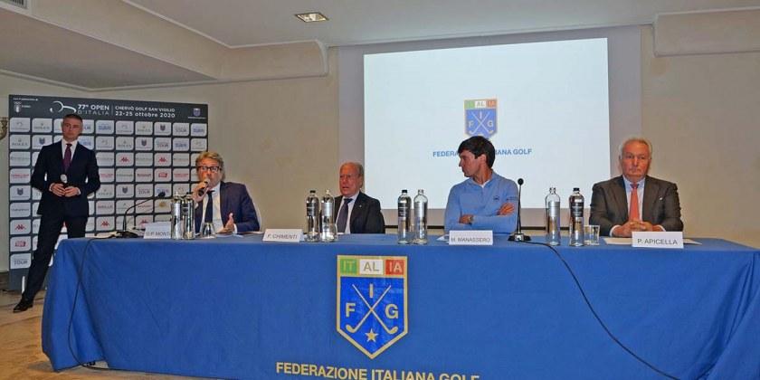 Tavolo conferenza Open Italia